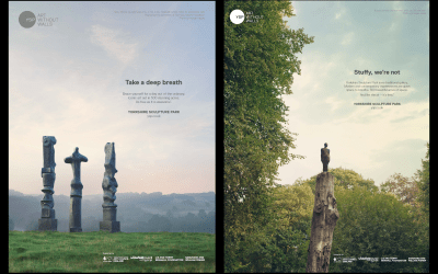 Brand Campaign Tears Down Walls at Yorkshire Sculpture Park