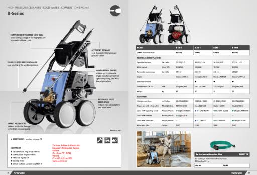 Kranzle B230T Power Washers - Technix Mallow Cork