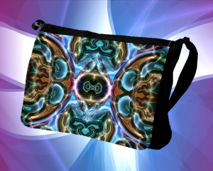 Techno Art Sling Bag