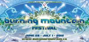 Ausstellung am Burning Mountain Festival