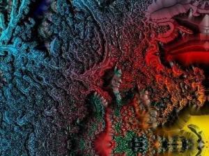 Psychedelische Kunst by Falki