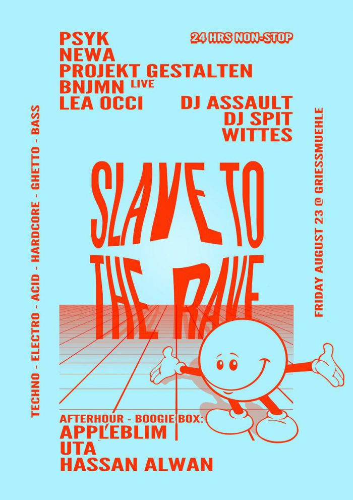 Protect the techno party