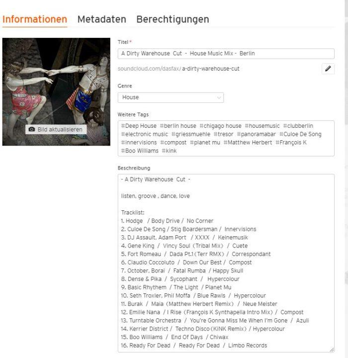 DESCRIPTION DJ Mix Soundcloud