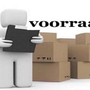 Voorraad/Stock