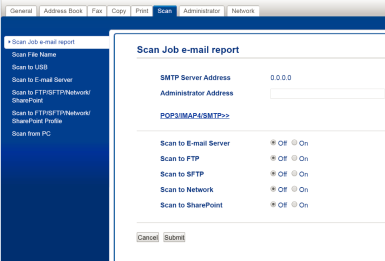 scan job email reports