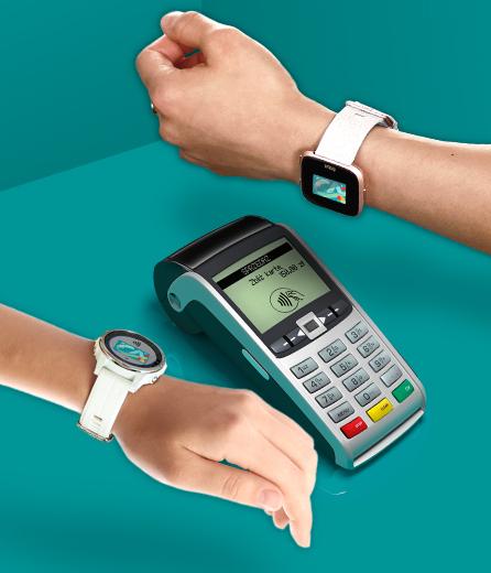 płatności zegarkami