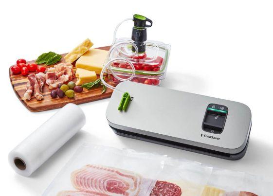 Kompaktowy system pakowania próżniowego FoodSaver VS1190X
