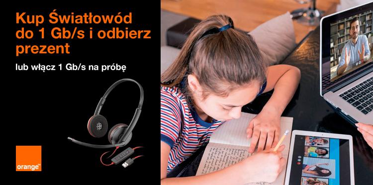 Internet do domu - Orange
