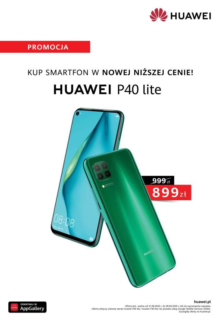zielony Huawei P40 lite