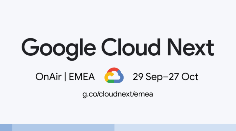 Google Cloud Next OnAir EMEA