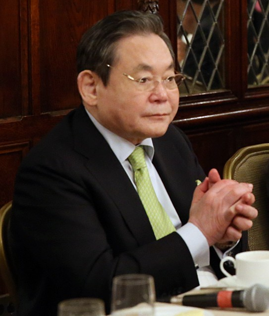 Wikipedia Lee Kun-hee
