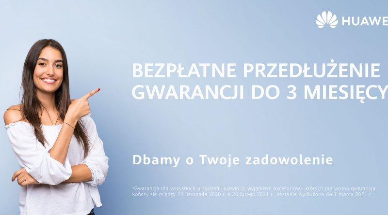 Huawei - gwarancja, door-to-door