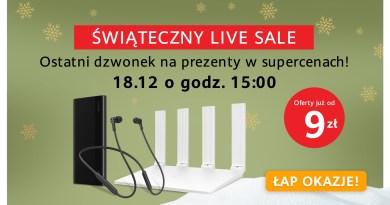 Huawei Live Sale
