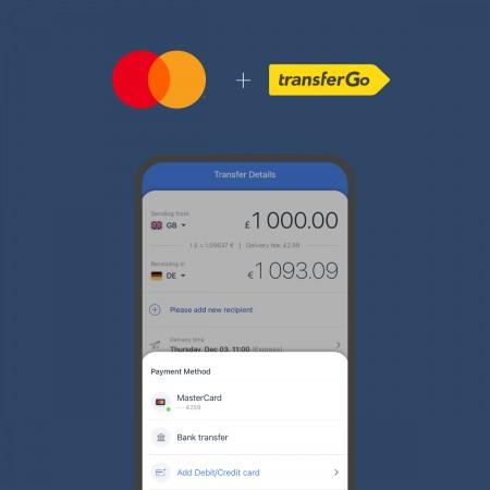 Mastercard i TransferGo