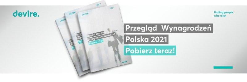 Raport Wynagrodzeń Polska 2021