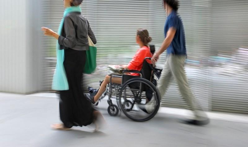 Ewakuacja na wózku inwalidzkim