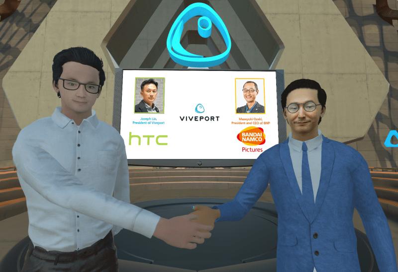 HTC VIVEPORT z BANDAI