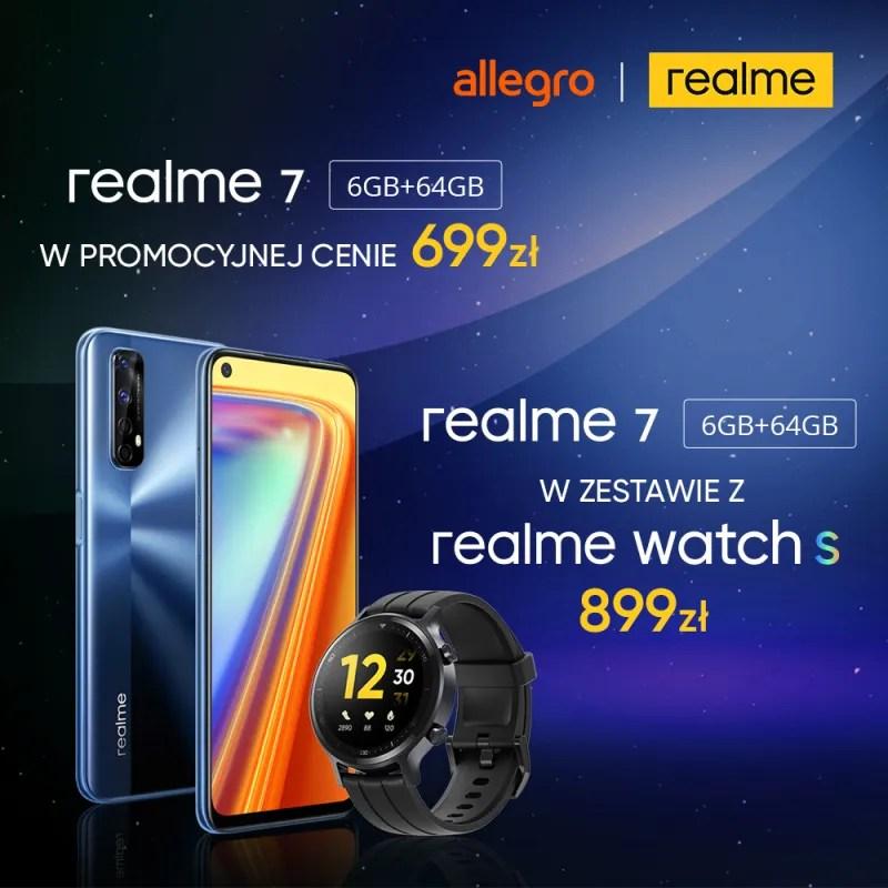 realme 7 6/64 + Watch S