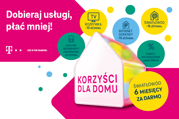 T-Mobile - Korzyści dla domu