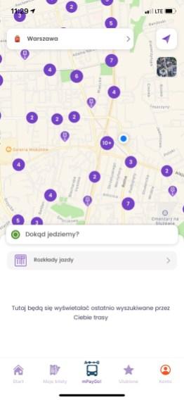 mPay planer: lokalizacja