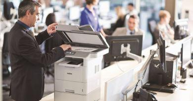 rozlokowanie drukarek w biurze
