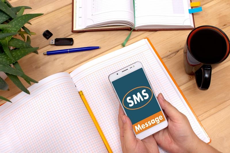 SMS z zamówieniem