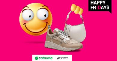T-Mobile - 20% rabatu na produkty z Eobuwie i MODIVO