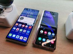 Huawei Mate X2 & Galaxy Z Fold2 5G