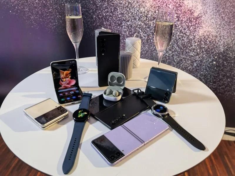 Galaxy Z Fold3 5G i Z Flip3 5G, Galaxy Buds2 oraz Galaxy Watch4