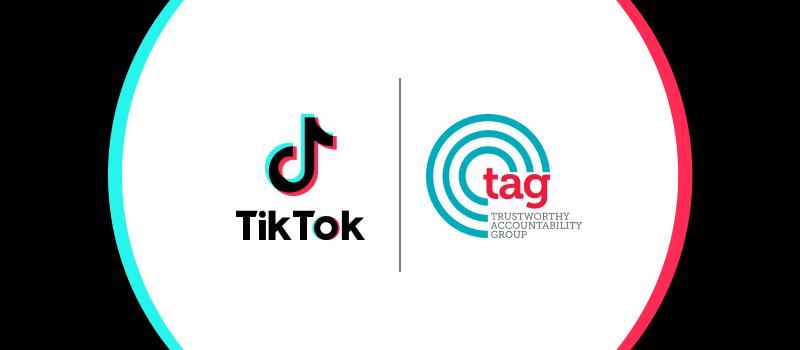 TikTok z TAG Brand Safety Certified