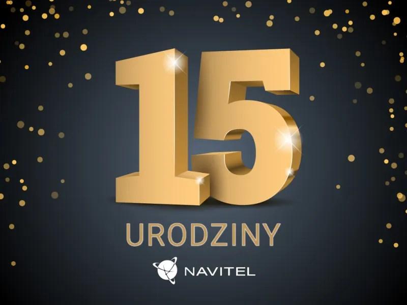 Navitel - 15 lat
