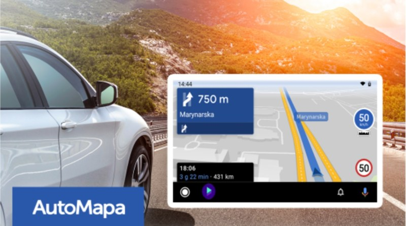 AutoMapa - Android Auto