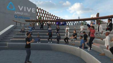 Magia immersji_Program do spotkan w VR Vive Sync