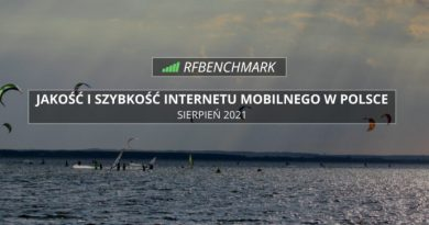 RFBenchmark sierpień 2021