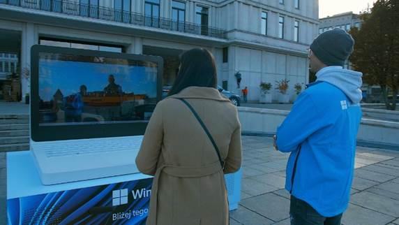 Windows 11 sprawdzili mieszkańcy Gdańska i Warszawy