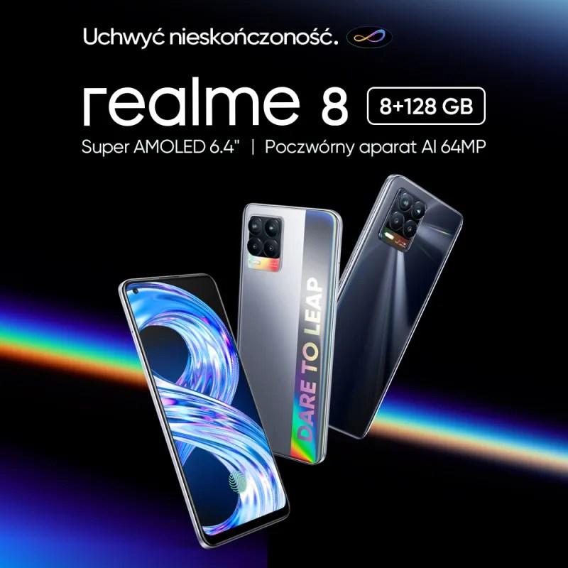 realme 8 Cyber Silver