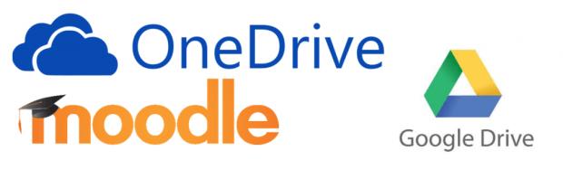 MoodleGoogleOneDrive