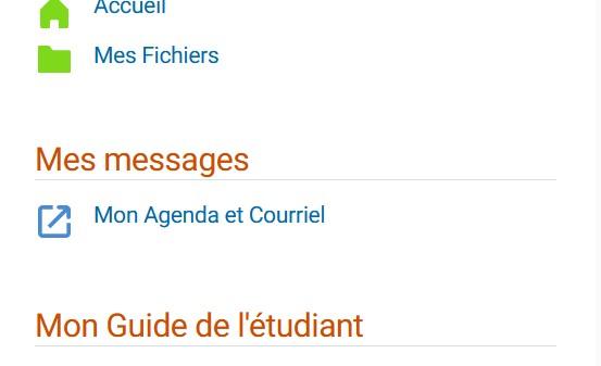 Mon Agenda et Courriel