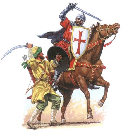 صلاح الدين والصليبيين