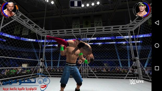 تحميل لعبة WWE 2K للاندرويد