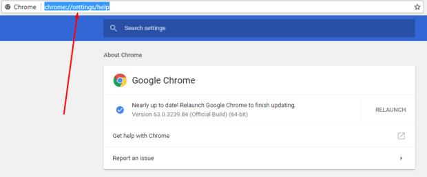 جوجل كروم احدث إصدار