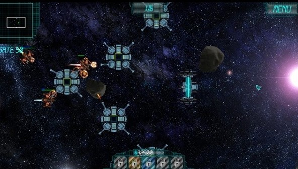 لعبة Space Conflict