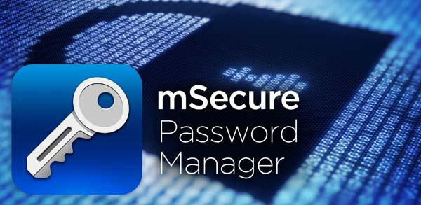 برنامج mSecure Password Manager
