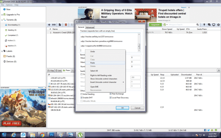 Download Movies Using uTorrent 14