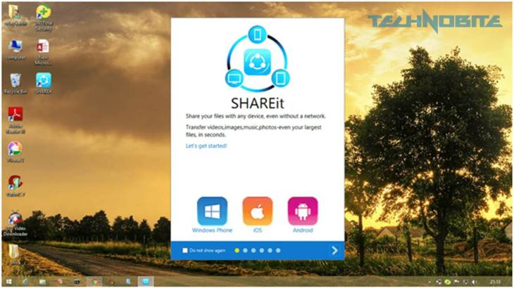 SHAREit for PC Displays All The Features of The File Transferring Software