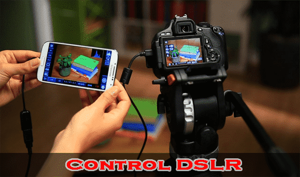 Connect DSLR - Top 10 Uses of USB OTG Cable