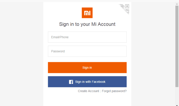 Step 6 - Login To Your Mi Account - Redmi Note 3 Bootloader.