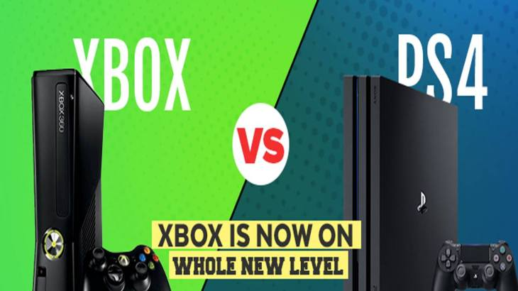 xbox vs ps4 - the best gaming console