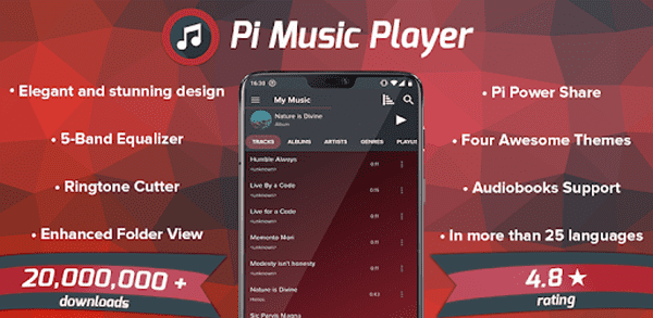 Pi Best Music Player For Android