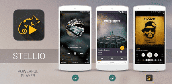 Stellio Music Player Android
